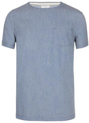 AllSaints Phello Woven T-shirt