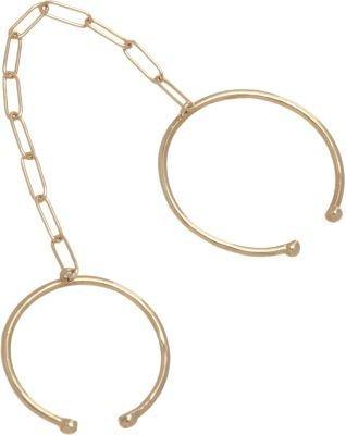 Loren Stewart Gold Leash Rings