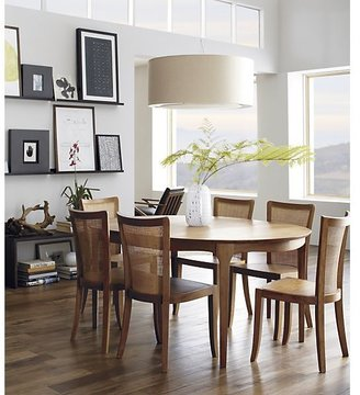Crate & Barrel Calista Extension Dining Table