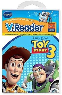 Vtech V.ReaderTM Toy Story 3 Cartridge