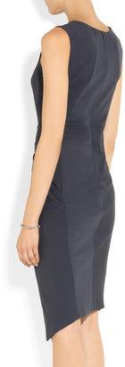 Donna Karan Gathered jersey dress