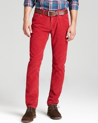 Michael Bastian GANT By Cords - Straight Fit in Red