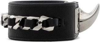 Givenchy Shark Lock Chain Bracelet in Black