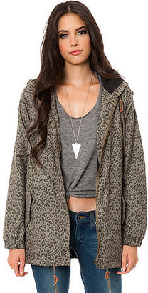 Obey The Everett Parka in Leopard