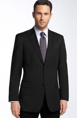 HUGO BOSS 'Pasolini' Black Virgin Wool Sportcoat