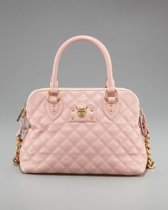 Marc Jacobs Quilted Carmine Satchel