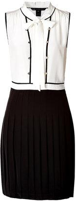 Marc by Marc Jacobs Silk Tie Neck Dress