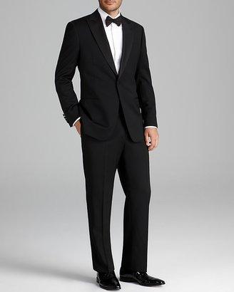 Armani Collezioni Giorgio Peak Lapel Tuxedo Suit - Classic Fit $1,995 thestylecure.com