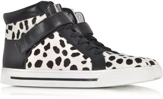 Marc by Marc Jacobs Cute Kicks 10mm Spotted Haircalf Sneaker