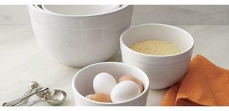 "Crate & Barrel 5-Piece 5.5""-9.75"" Nesting Mixing Bowl Set"