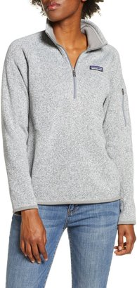 Patagonia Better Sweater Quarter Zip Performance Jacket