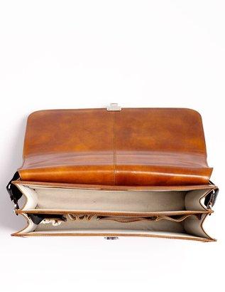 Bosca Double Gusset Briefcase