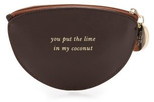 Kate Spade Haircalf Coconut Coin Purse