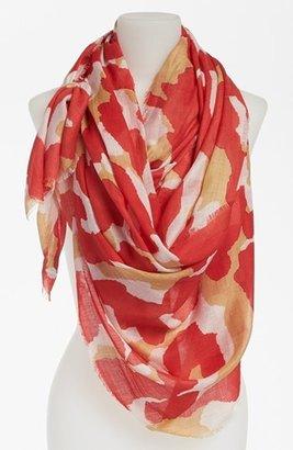 Diane von Furstenberg 'Hanover' Wool & Silk Scarf