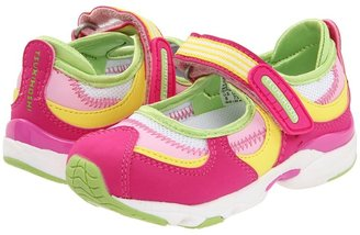 Tsukihoshi Arisa (Toddler/Youth) (Fuchsia/Lime) - Footwear