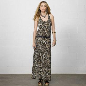 Denim & Supply Ralph Lauren Ocelot Tank Maxidress