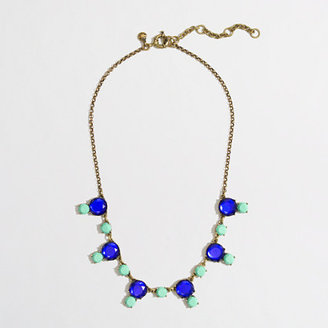 J.Crew Factory Factory stone drop necklace