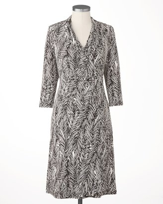 Coldwater Creek Eventide wrap dress
