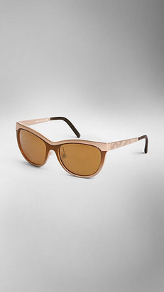 Burberry Trench Collection Cat-Eye Sunglasses