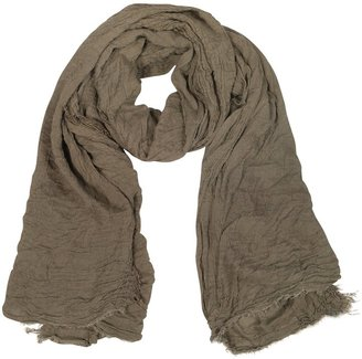 Coveri Collection Woven Fringed Long Scarf