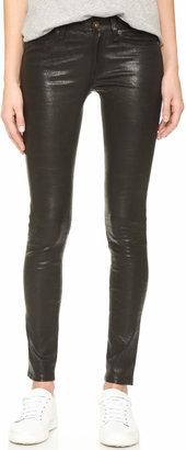 Rag & Bone/JEAN The Leather Skinny Pants $979 thestylecure.com