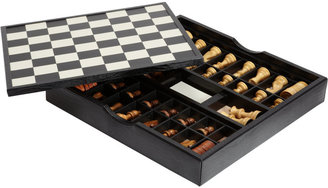 Renzo Romagnoli Game Set Chess / Checkers $695 thestylecure.com