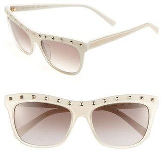 Valentino 'Rockstud' 54mm Sunglasses