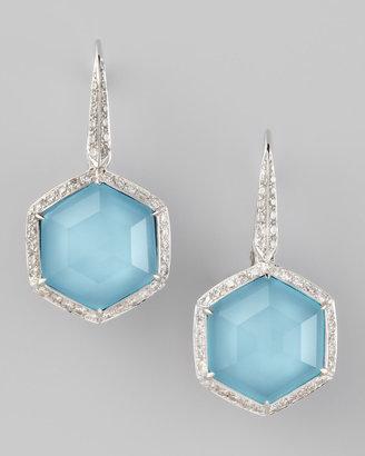 Stephen Webster Pave Diamond Art Deco Drop Earrings