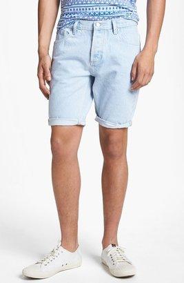 Topman Skinny Denim Shorts