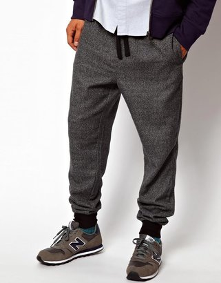 Asos Sweatpants In Textured Fabric