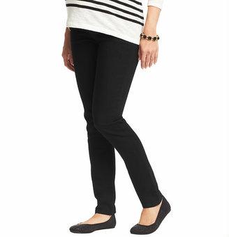 LOFT Maternity Skinny Jeans in Black