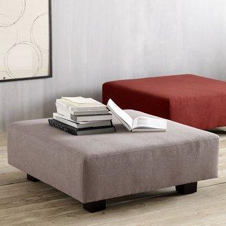 west elm Tillary Ottoman + Cushions
