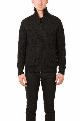 Blue & Cream Blue&Cream Chunky Full Zip Sweater