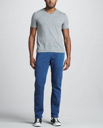 Levi's Spoke Cotton/Linen Chino Pants, Ensign Blue