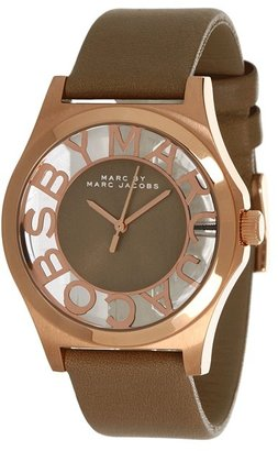 Marc by Marc Jacobs MBM1245 - Henry Skeleton (Rose Gold/Gingersnap) - Jewelry