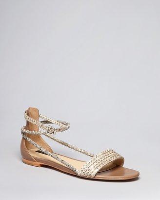 Rachel Zoe Exotic Flat Sandals - Georgie