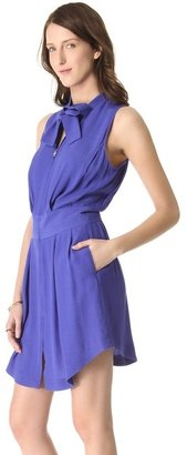 See by Chloe Neck Tie Dress