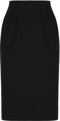 Eileen Fisher Black High-waisted Pencil Skirt