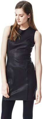 Theory Fraylan Dress in Danish Leather