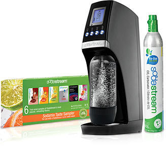 Sodastream Revolution Soda Maker Starter Kit