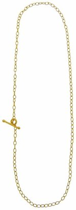 Cathy Waterman Fine Lacy 16 Inch Chain Necklace - 22 Karat Yellow Gold
