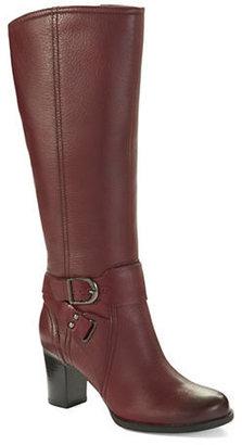 Clarks Jolissa Lapis Heeled Boots
