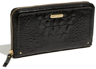 Women's Brahmin 'Suri' Zip Around Wallet - Black $135 thestylecure.com