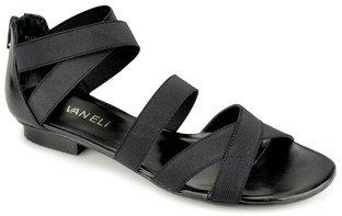VANELi Blum - Black Elastic Strappy Sandal