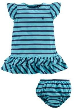 Ralph Lauren Baby Girls 12-24 Months Striped Dress