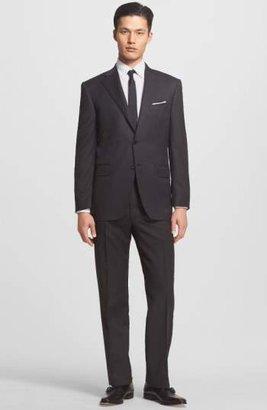 Canali Trim Fit Wool Suit