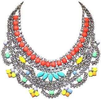Tom Binns 'Soft Power' bib necklace