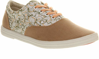 Bucketfeet Lace Up Pink Pattern Common Transport