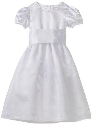 Hartstrings Girls 2-6X Little Communion and Flower Girl Organza Dress