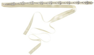 Jennifer Behr for J.Crew diamond leaves sash